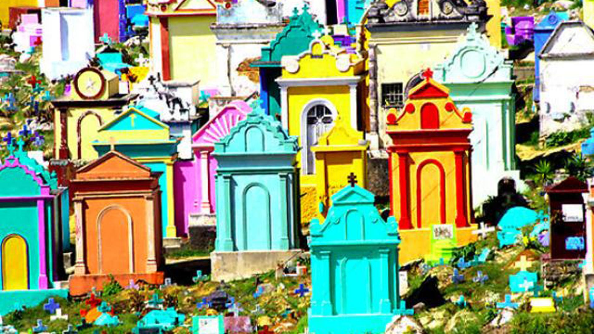 El Gran Cementerio de Chichicastenango