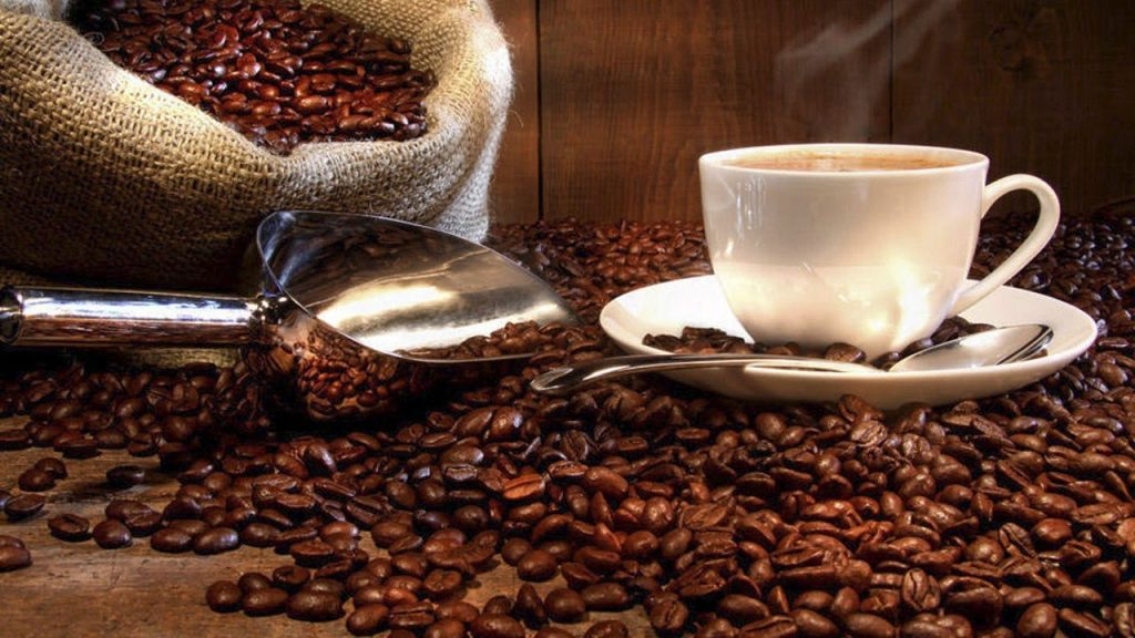 Canasta de café en Guatemala.