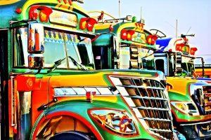 camiones en guatemala