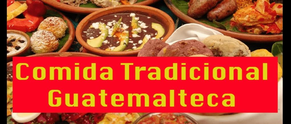 Comida tradicional guatemalteca