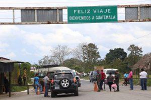 Paso en Corinto Guatemala