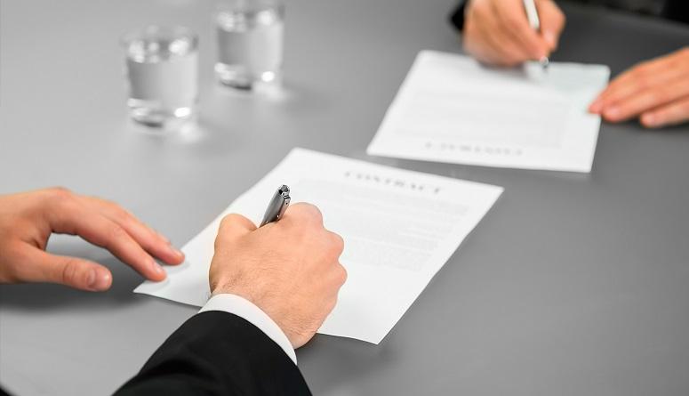 firma de contrato CMI