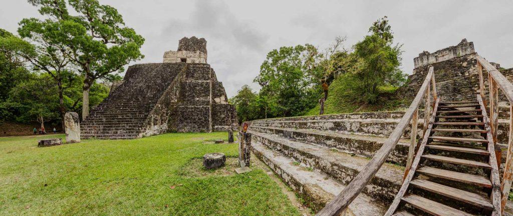 ruinas en peten Guatemala