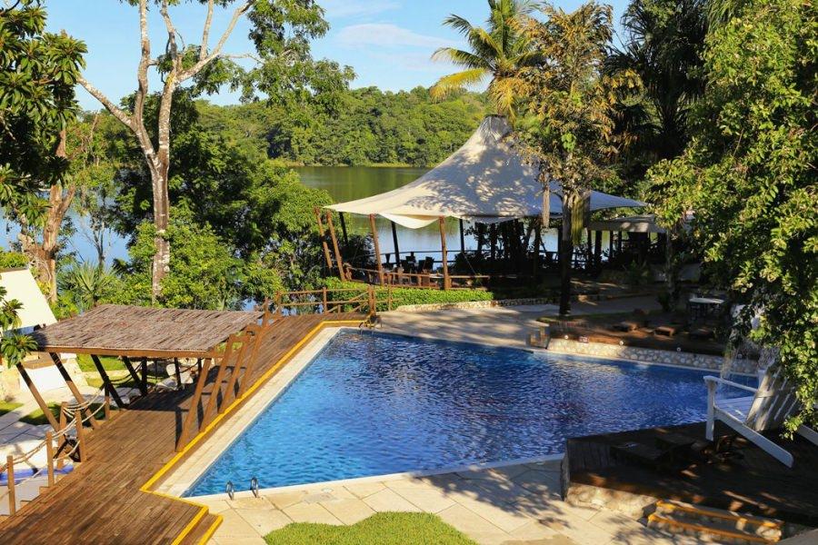 vista del hotel villa maya
