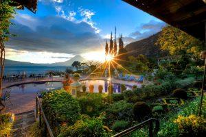 vista desde Hotel Atitlan
